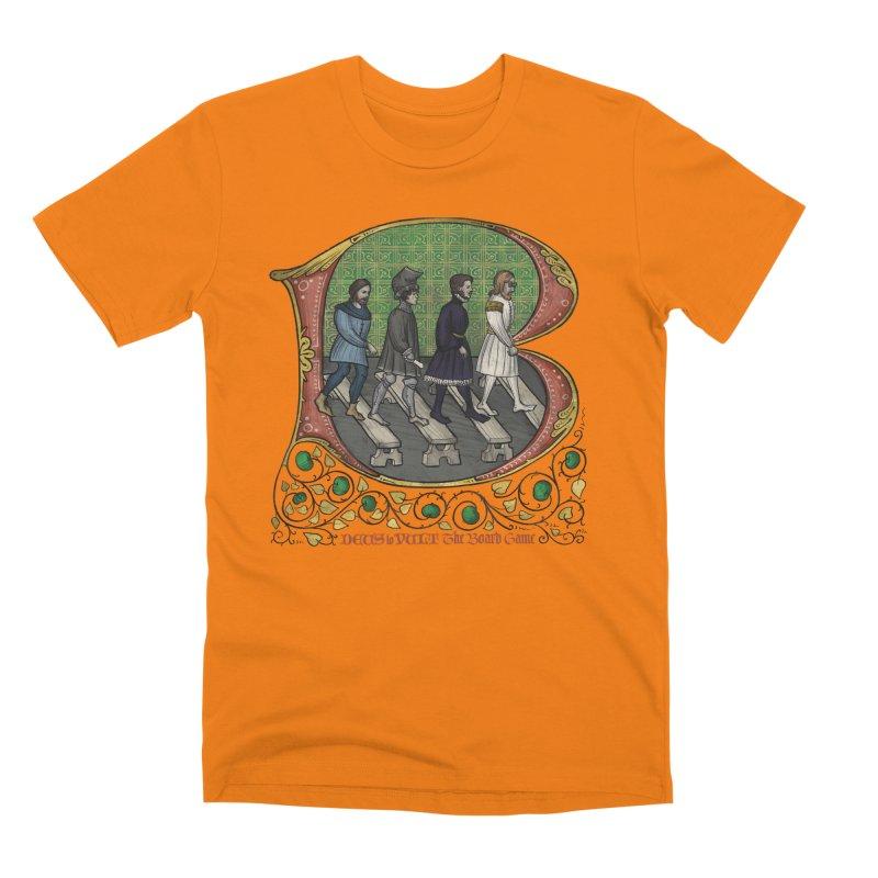Via Abbatiae Men's T-Shirt by Deus Lo Vult Merchandise Store