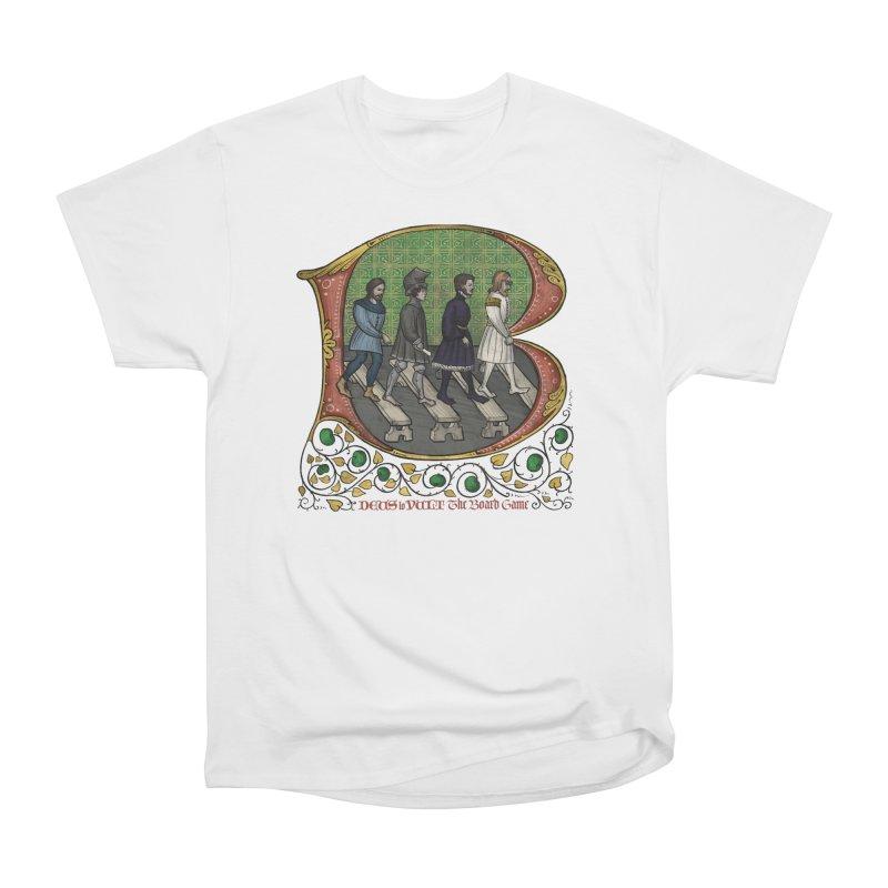 Via Abbatiae Women's T-Shirt by Deus Lo Vult Merchandise Store