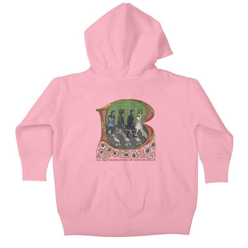 Via Abbatiae Kids Baby Zip-Up Hoody by Deus Lo Vult Merchandise Store