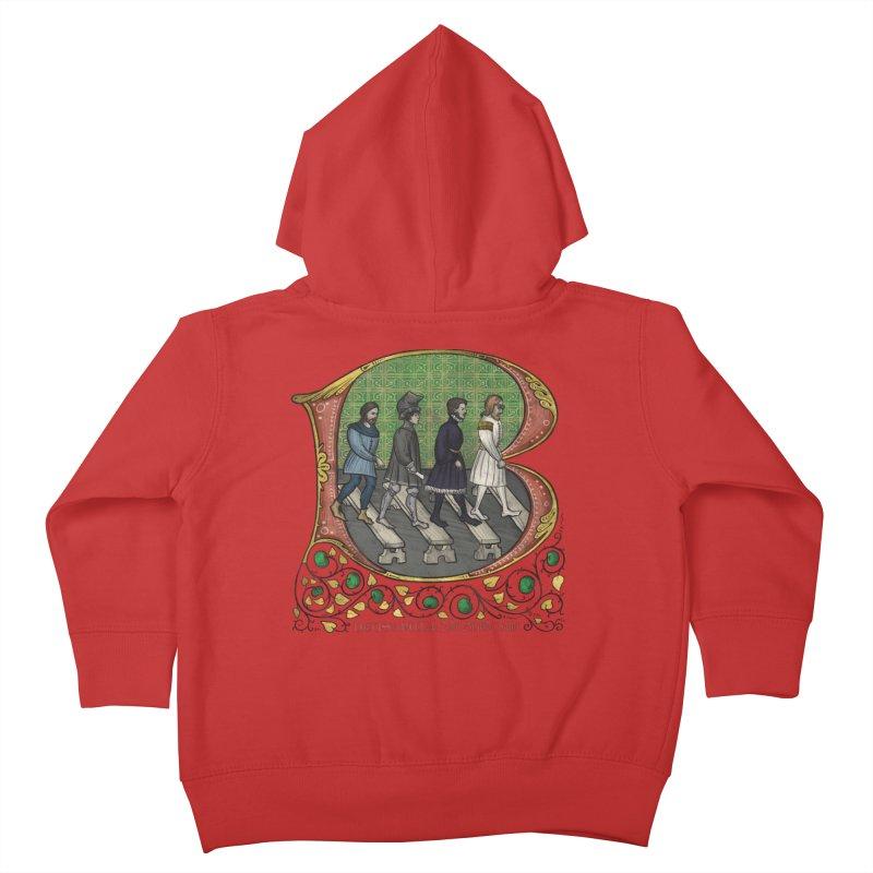 Via Abbatiae Kids Toddler Zip-Up Hoody by Deus Lo Vult Merchandise Store