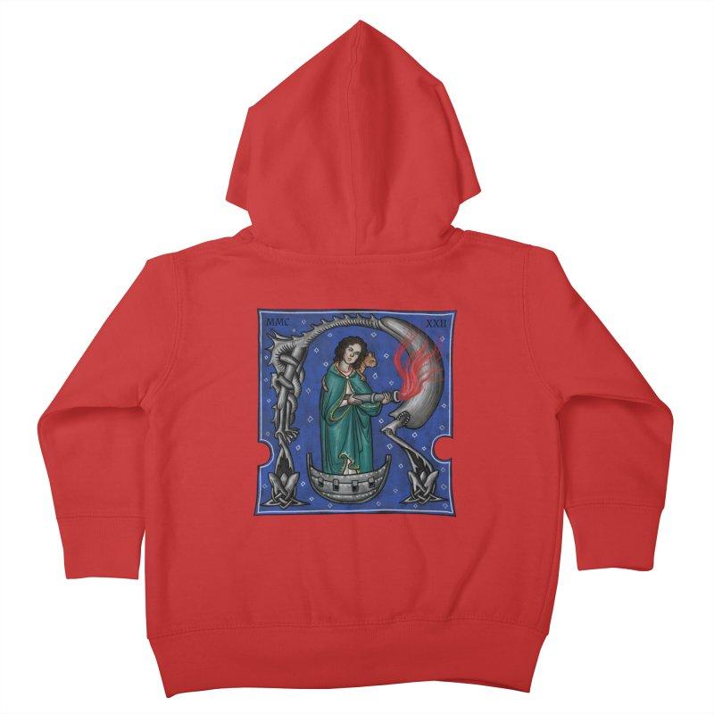 Aliena Kids Toddler Zip-Up Hoody by Deus Lo Vult Merchandise Store