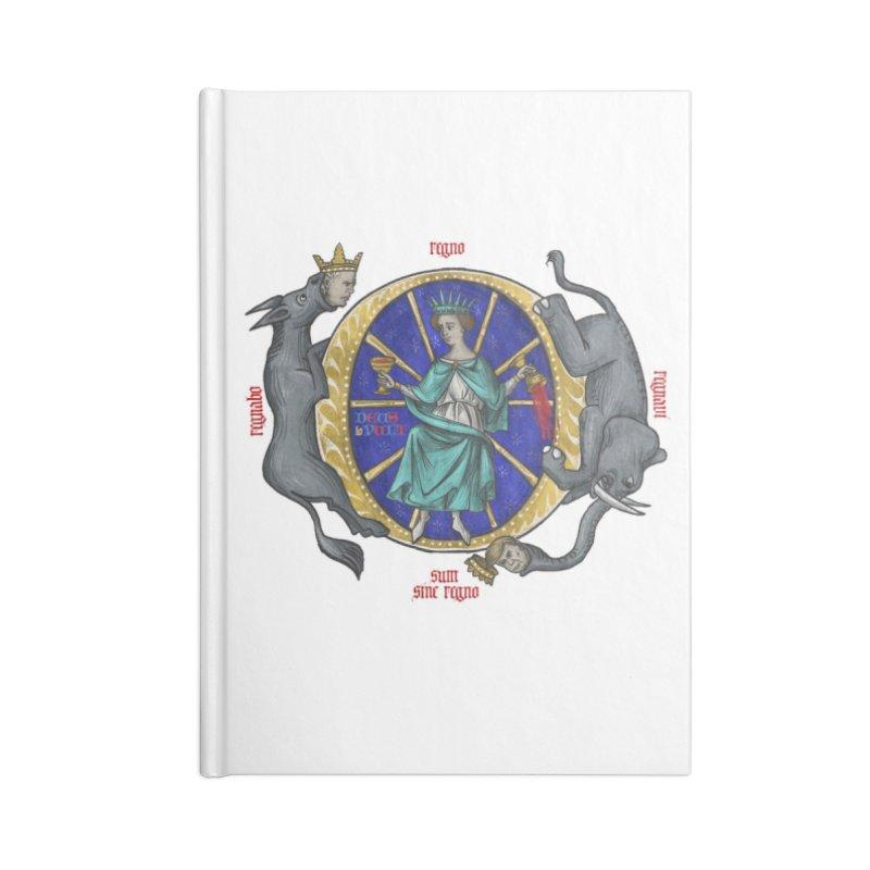 O Fortuna Accessories Notebook by Deus Lo Vult Merchandise Store