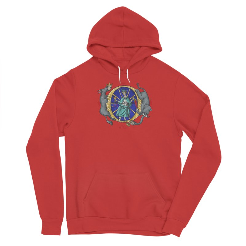 O Fortuna Men's Pullover Hoody by Deus Lo Vult Merchandise Store