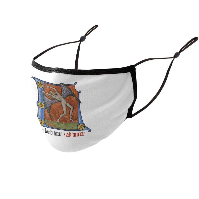 Holy Land Tour Accessories Face Mask by Deus Lo Vult Merchandise Store