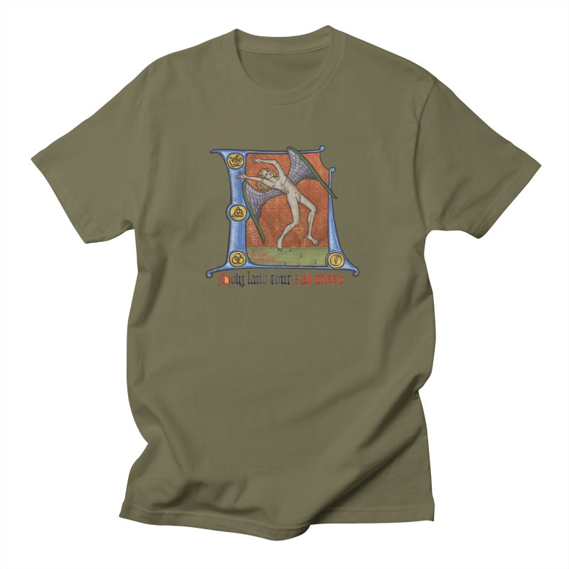Holy Land Tour Men's T-Shirt by Deus Lo Vult Merchandise Store