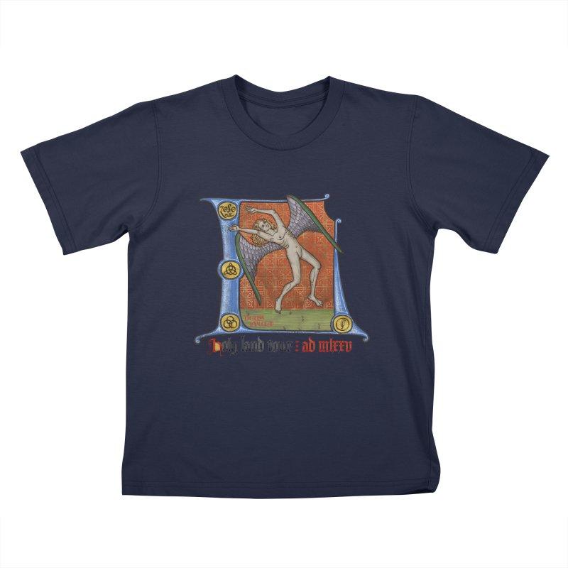 Holy Land Tour Kids T-Shirt by Deus Lo Vult Merchandise Store