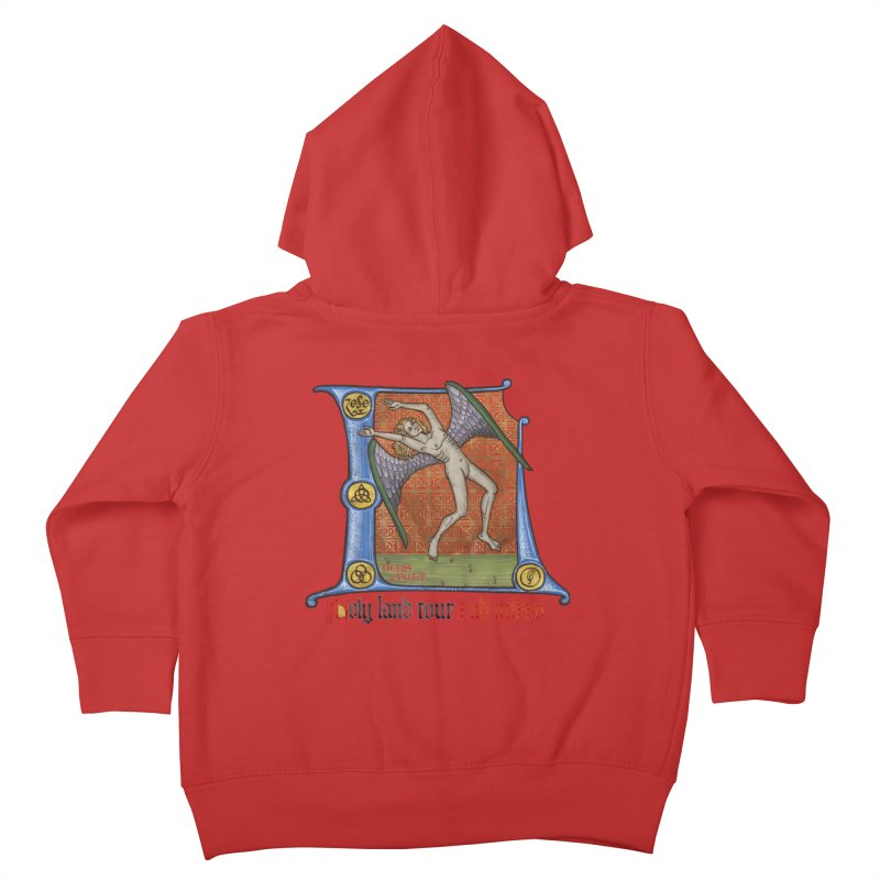 Holy Land Tour Kids Toddler Zip-Up Hoody by Deus Lo Vult Merchandise Store