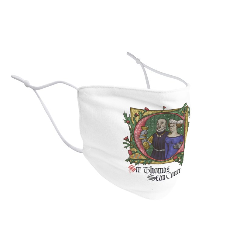 Sir Thomas Sean Connery Tribute Accessories Face Mask by Deus Lo Vult Merchandise Store