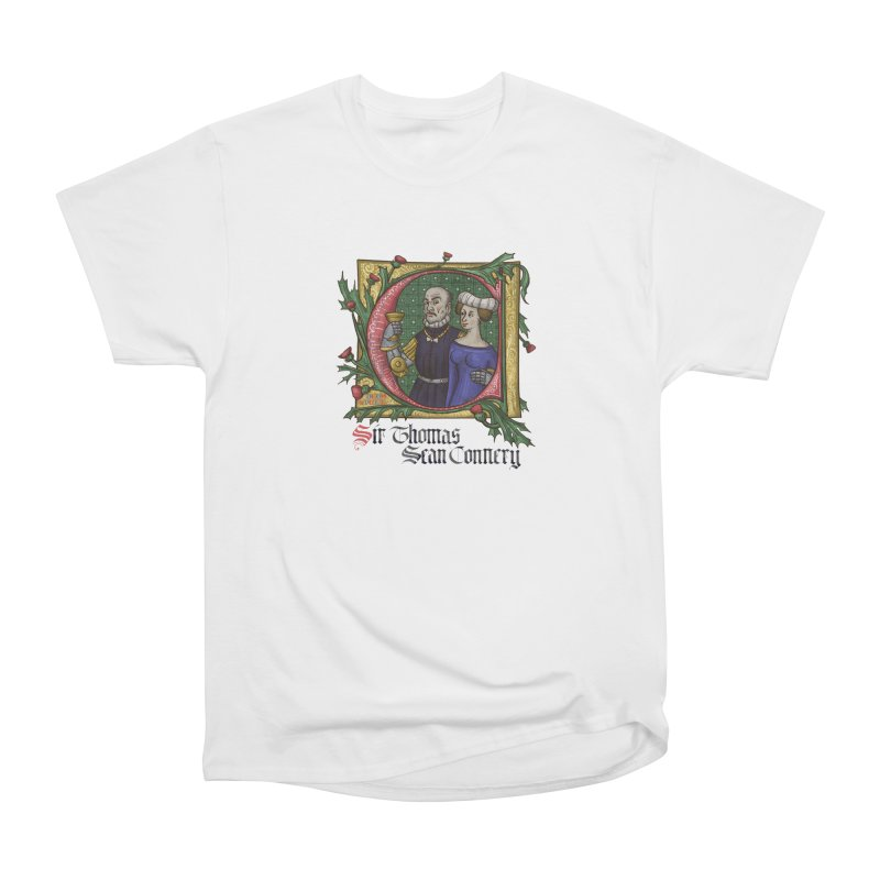 Sir Thomas Sean Connery Tribute Women's T-Shirt by Deus Lo Vult Merchandise Store