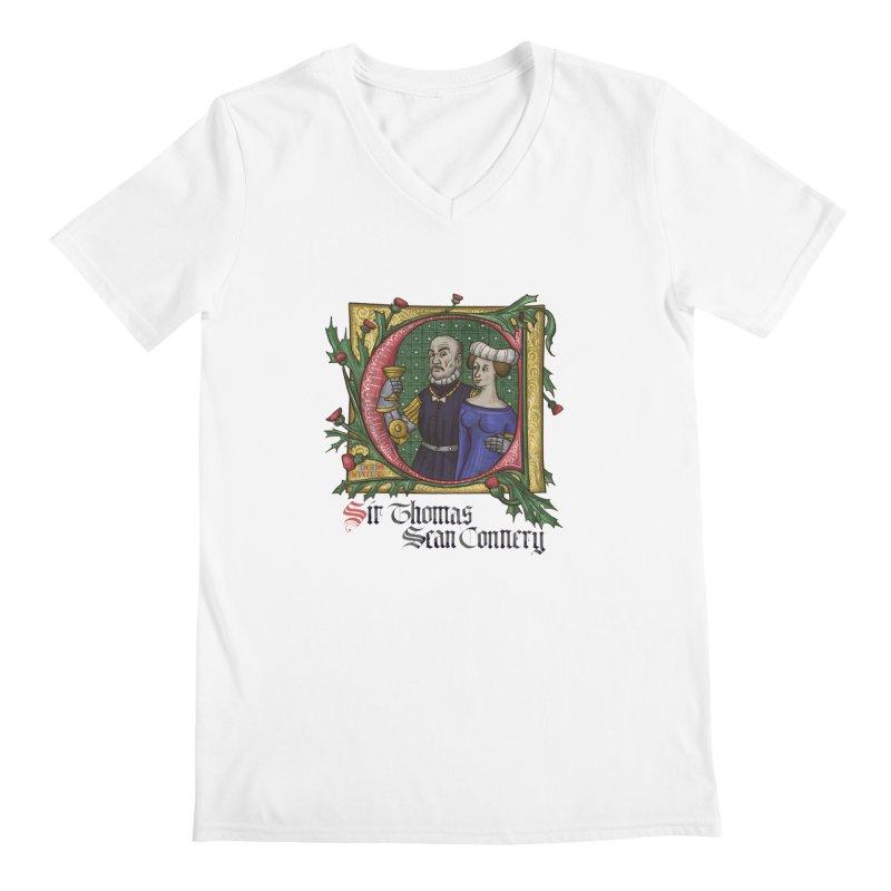 Sir Thomas Sean Connery Tribute Men's V-Neck by Deus Lo Vult Merchandise Store