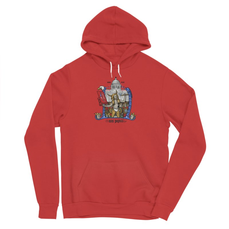 Nos populi Men's Pullover Hoody by Deus Lo Vult Merchandise Store