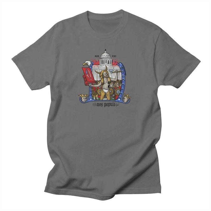 Nos populi Men's T-Shirt by Deus Lo Vult Merchandise Store