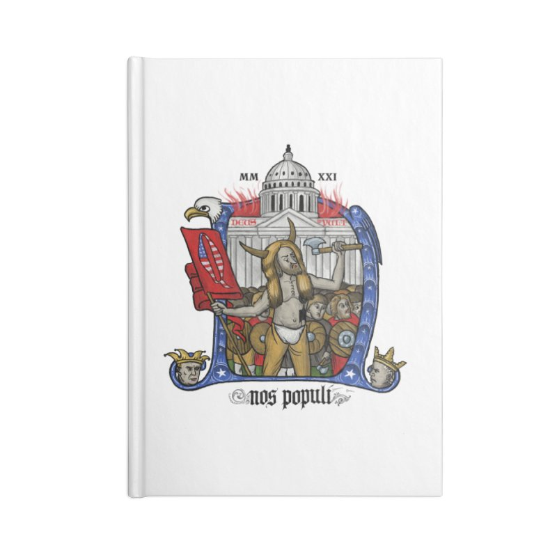 Nos populi Accessories Notebook by Deus Lo Vult Merchandise Store