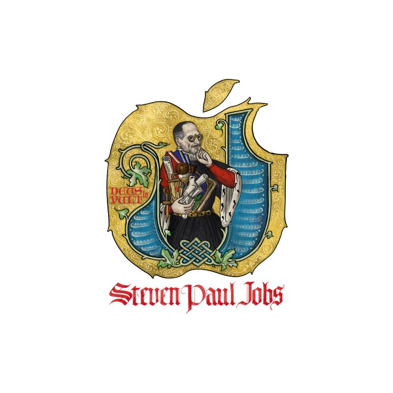 Steven Paul Jobs Tribute Accessories Face Mask by Deus Lo Vult Merchandise Store