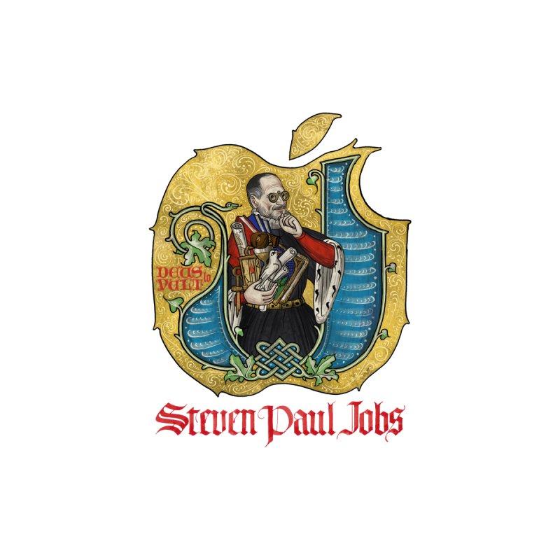 Steven Paul Jobs Tribute Men's Pullover Hoody by Deus Lo Vult Merchandise Store