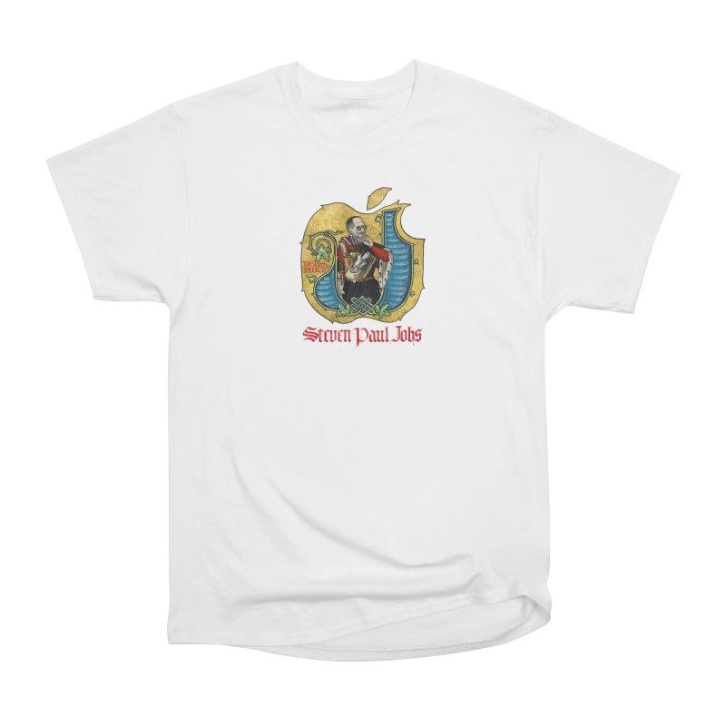 Steven Paul Jobs Tribute Women's T-Shirt by Deus Lo Vult Merchandise Store