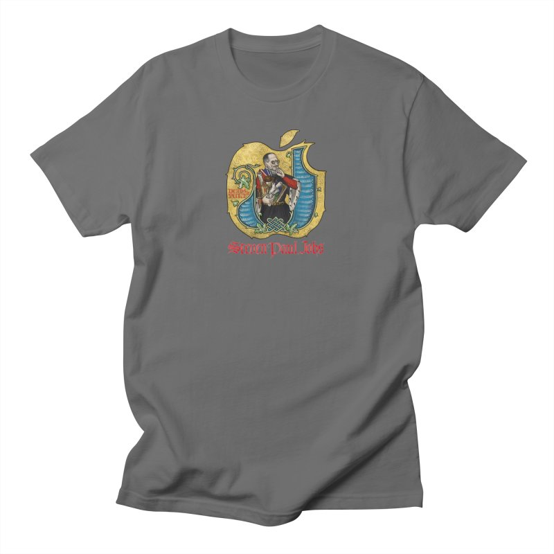 Steven Paul Jobs Tribute Men's T-Shirt by Deus Lo Vult Merchandise Store