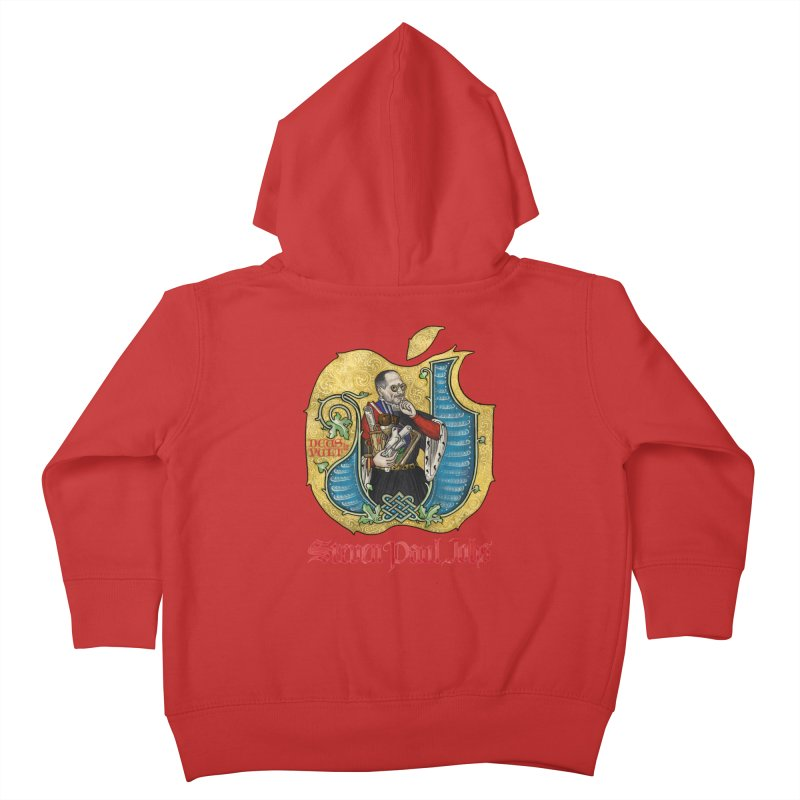 Steven Paul Jobs Tribute Kids Toddler Zip-Up Hoody by Deus Lo Vult Merchandise Store