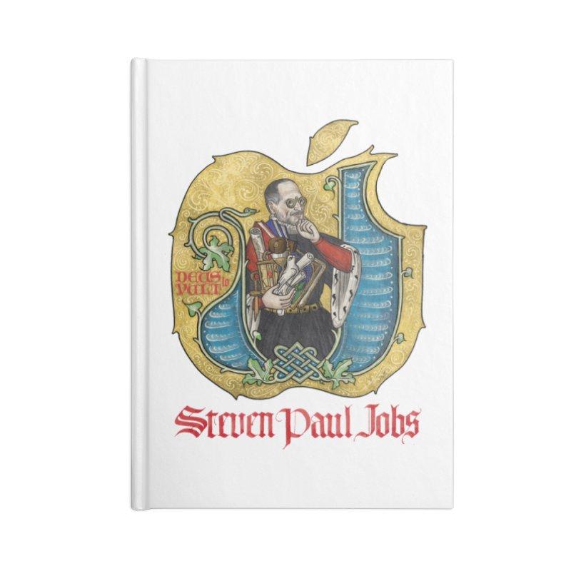 Steven Paul Jobs Tribute Accessories Notebook by Deus Lo Vult Merchandise Store