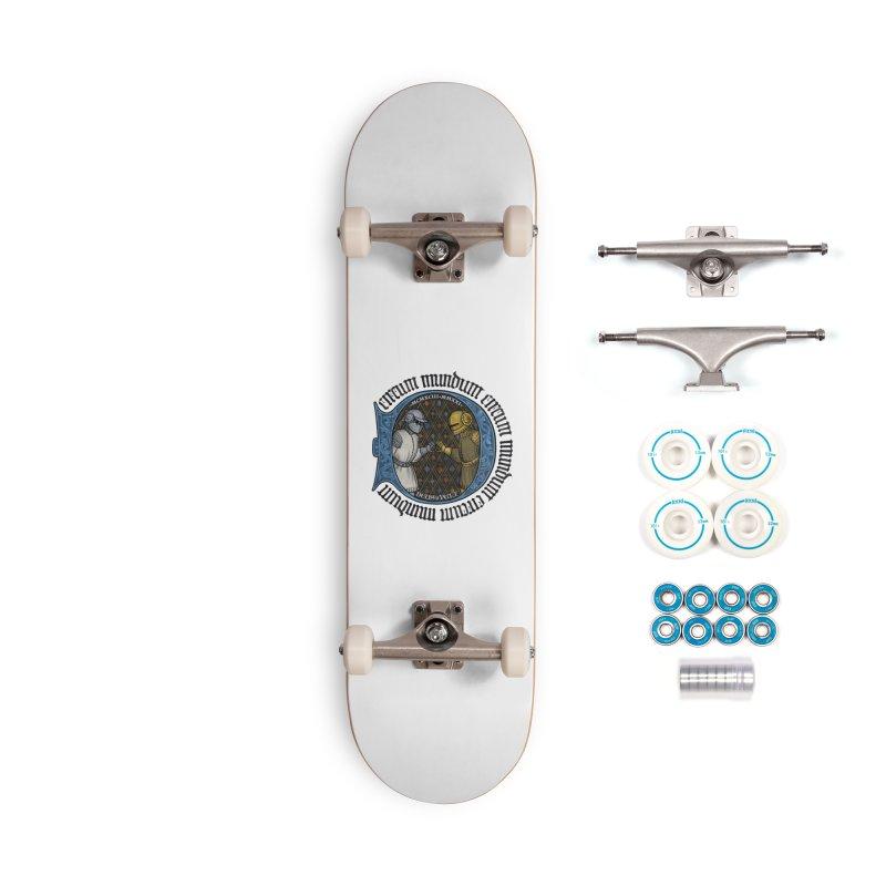 Daft Punk Tribute: 1993 – 2021 Accessories Skateboard by Deus Lo Vult Merchandise Store
