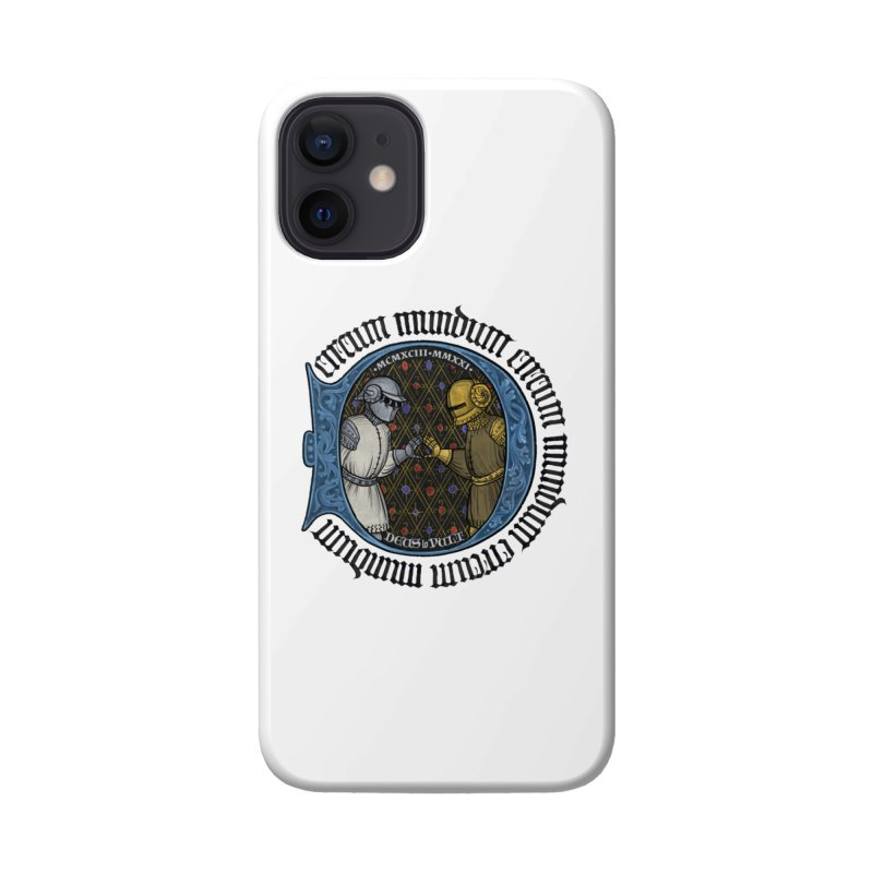 Daft Punk Tribute: 1993 – 2021 Accessories Phone Case by Deus Lo Vult Merchandise Store