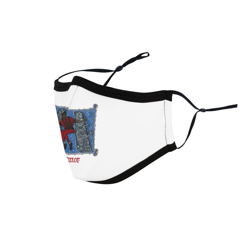 Tremor Tribute Accessories Face Mask by Deus Lo Vult Merchandise Store
