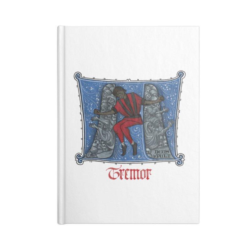 Tremor Tribute Accessories Notebook by Deus Lo Vult Merchandise Store