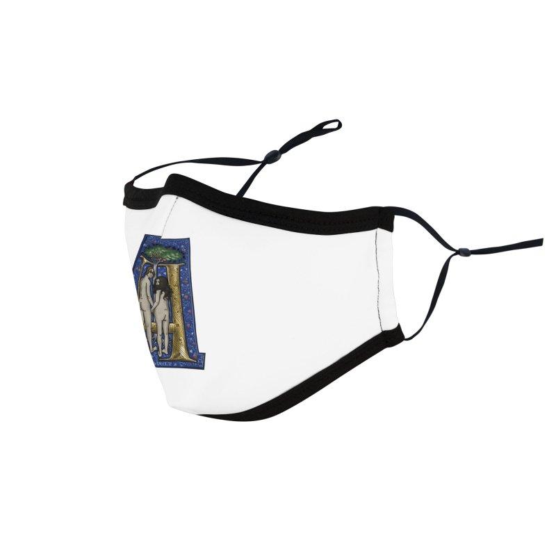 Amor omnibus indigetis Accessories Face Mask by Deus Lo Vult Merchandise Store