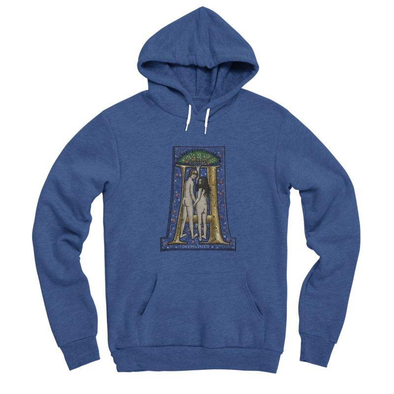 Amor omnibus indigetis Men's Pullover Hoody by Deus Lo Vult Merchandise Store