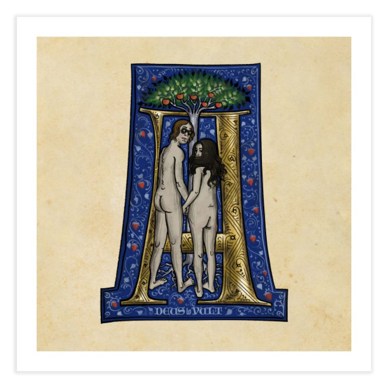 Amor omnibus indigetis Home Fine Art Print by Deus Lo Vult Merchandise Store
