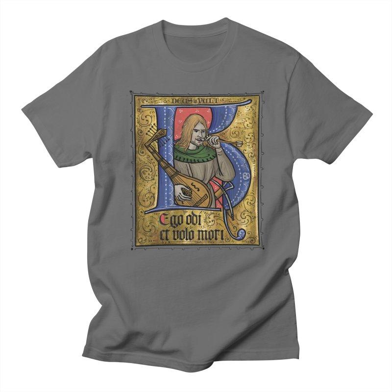 Ego odi et volo mori Men's T-Shirt by Deus Lo Vult Merchandise Store