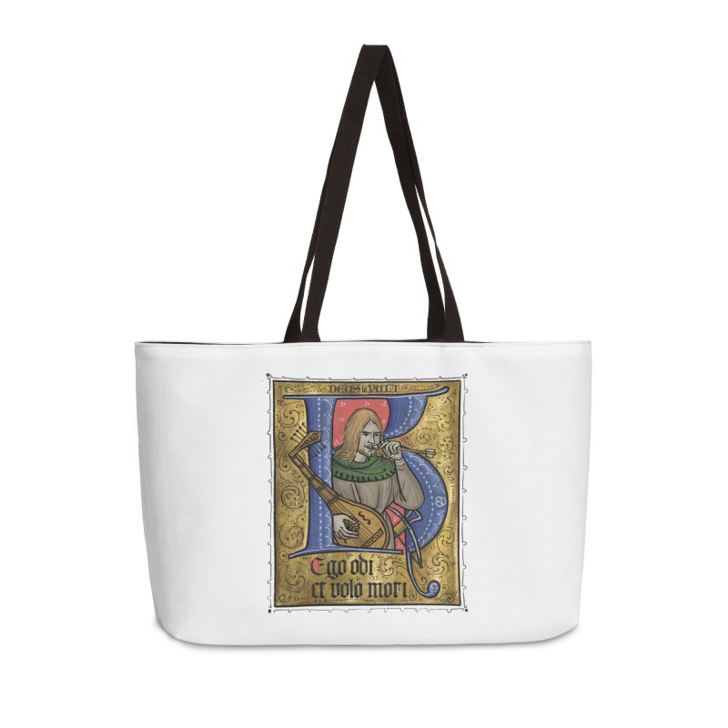 Ego odi et volo mori Accessories Bag by Deus Lo Vult Merchandise Store