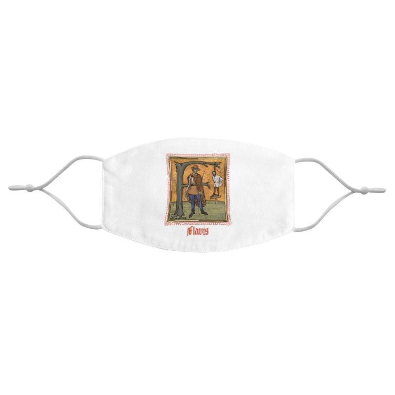 Flavis Accessories Face Mask by Deus Lo Vult Merchandise Store