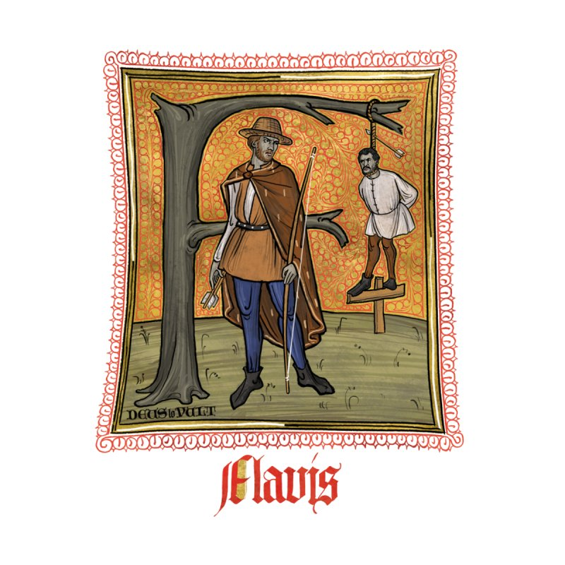 Flavis Accessories Notebook by Deus Lo Vult Merchandise Store