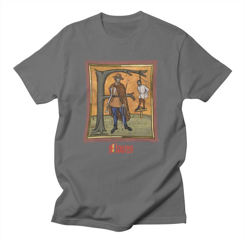 Flavis Men's T-Shirt by Deus Lo Vult Merchandise Store