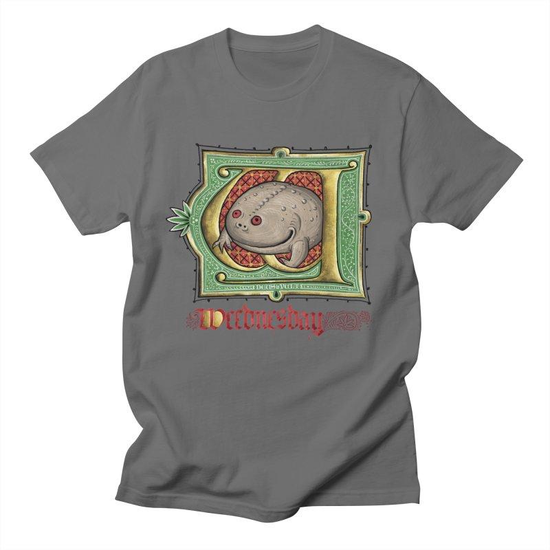 Weednesday Men's T-Shirt by Deus Lo Vult Merchandise Store