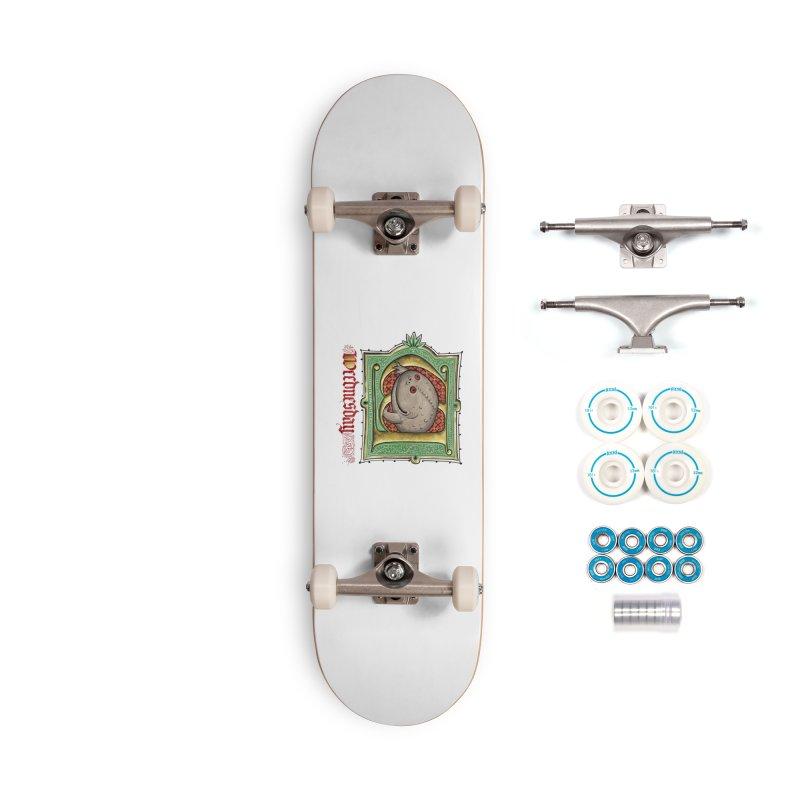 Weednesday Accessories Skateboard by Deus Lo Vult Merchandise Store
