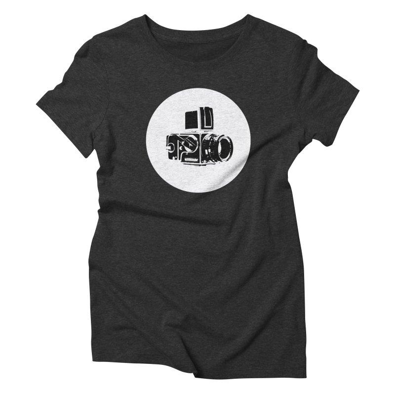 Hasselblad Women's Triblend T-Shirt by hiddenlight's Artist Shop