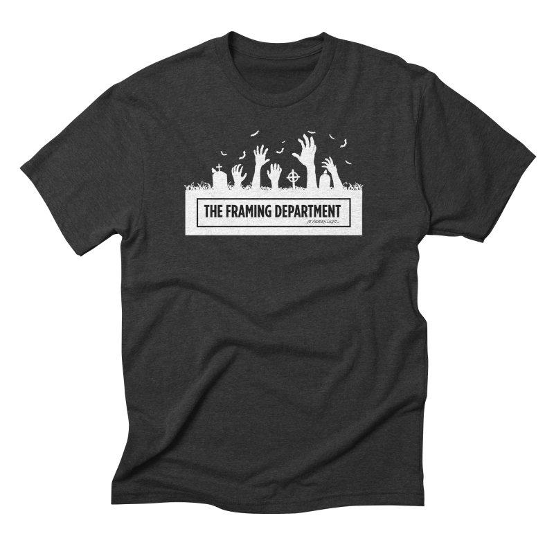 Halloween Zombie Men's T-Shirt by Hidden Light