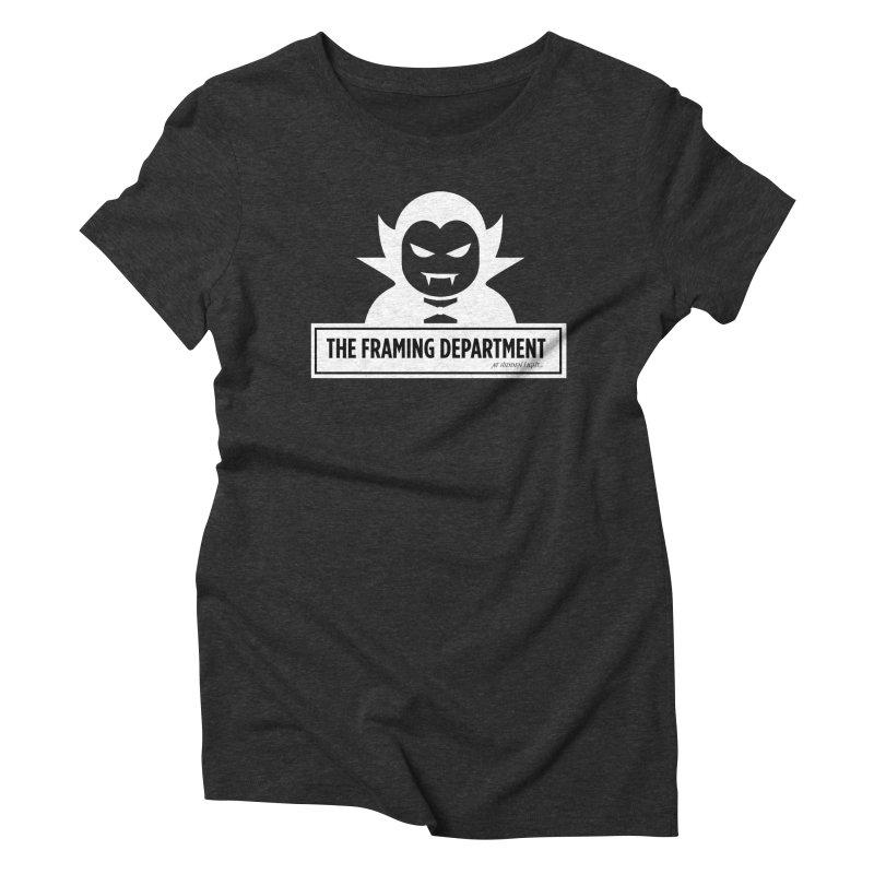 Halloween Vampire Women's Triblend T-Shirt by hiddenlight's Artist Shop