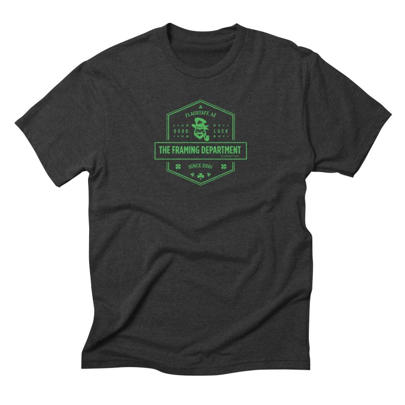 St Paddy's with Pipe Men's Triblend T-Shirt by Hidden Light