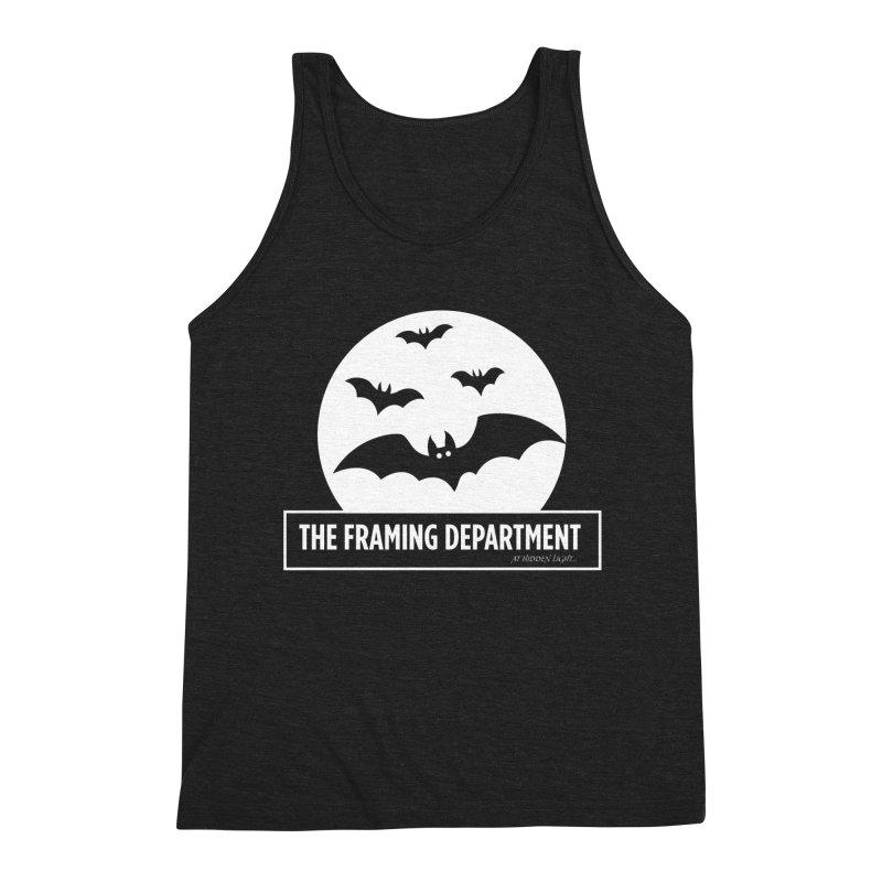 Bats over the Moon Men's Tank by Hidden Light
