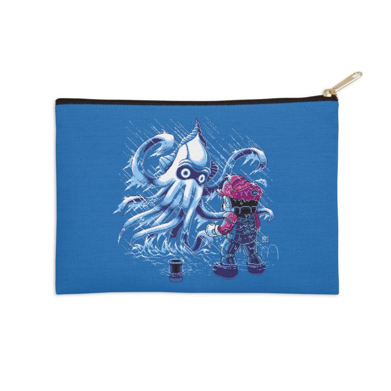 Pacific Shroom Accessories Zip Pouch by Hidden Nature's Artist Shop