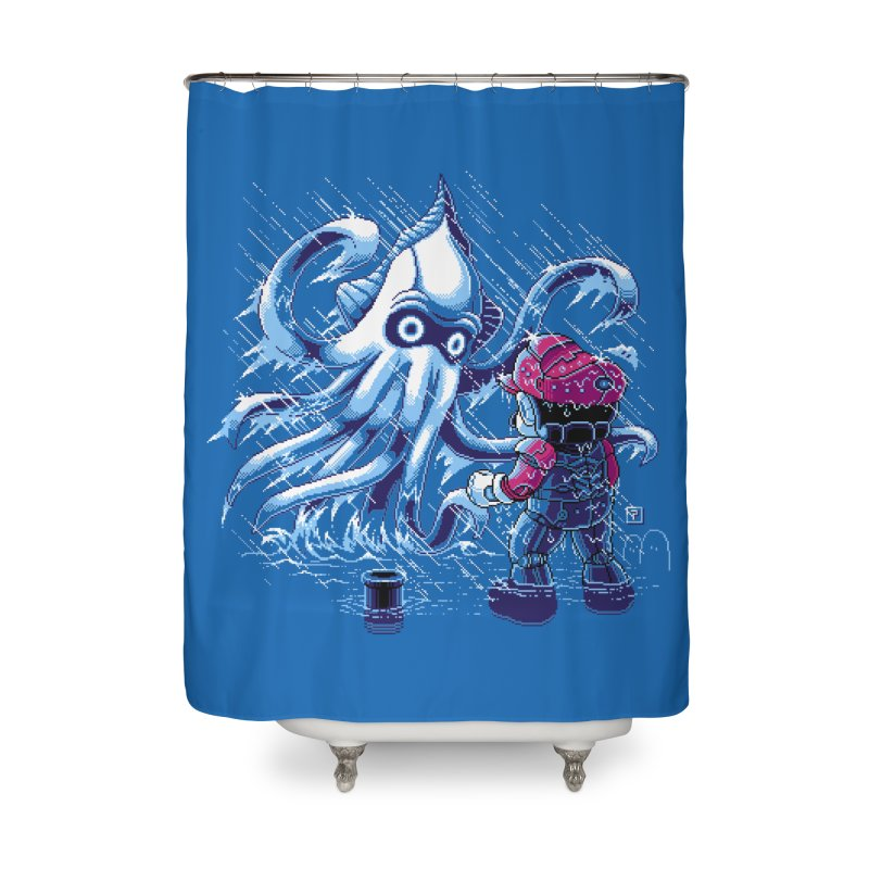 Pacific Shroom Home Shower Curtain by Hidden Nature's Artist Shop