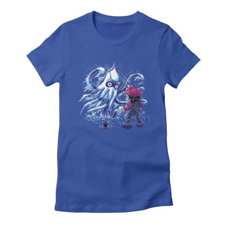 Pacific Shroom Women's Fitted T-Shirt by Hidden Nature's Artist Shop