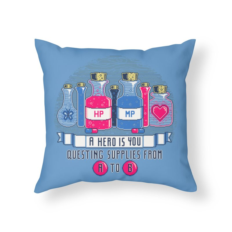 Apothecary Home Throw Pillow by Hidden Nature's Artist Shop
