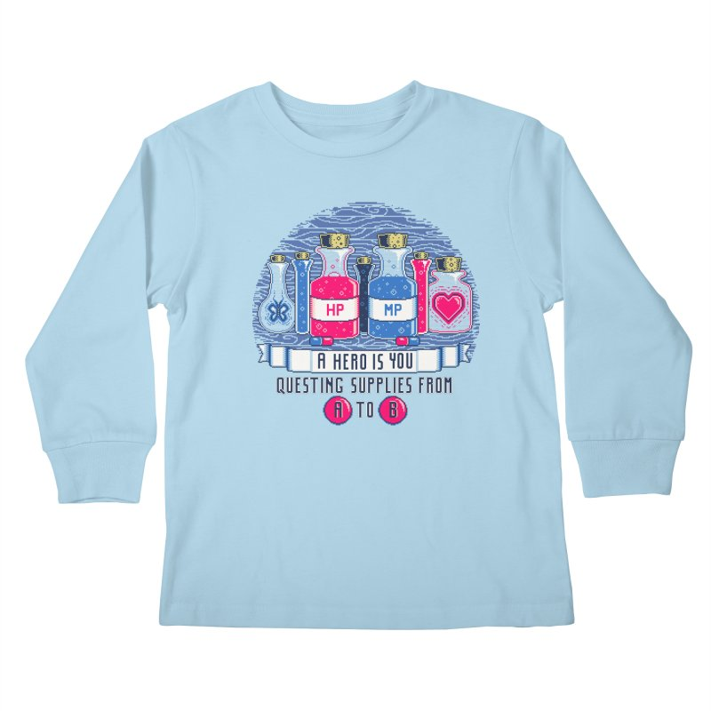 Apothecary Kids Longsleeve T-Shirt by Hidden Nature's Artist Shop