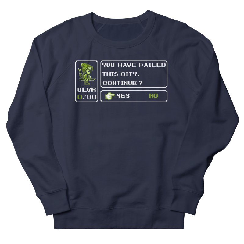 8-Bit Archer Women's Sweatshirt by Hidden Nature's Artist Shop