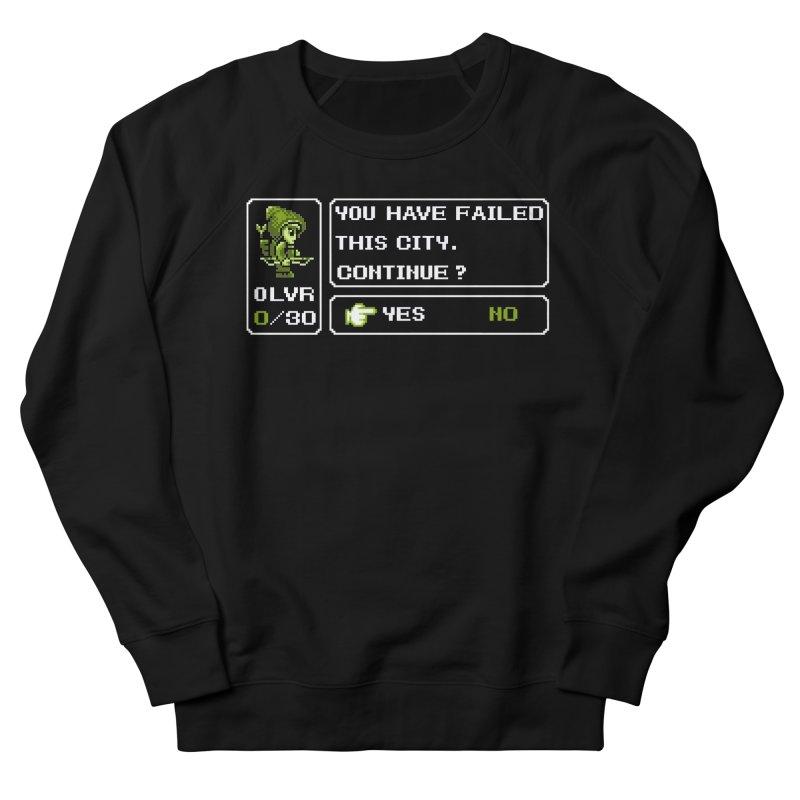 8-Bit Archer Men's Sweatshirt by Hidden Nature's Artist Shop