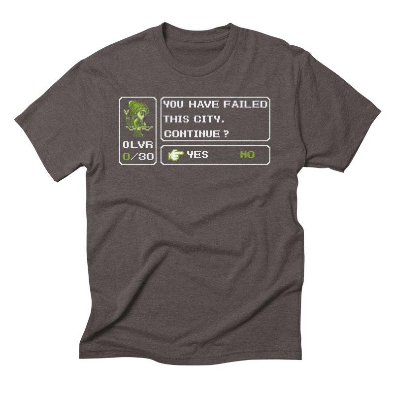 8-Bit Archer Men's Triblend T-Shirt by Hidden Nature's Artist Shop